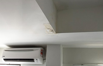 Ceiling Leak Repair