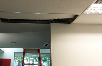 Ceiling Leakage Repair