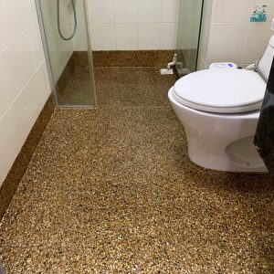 Epoxy Bathroom Floor Singapore