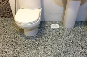 Epoxy Floor Bathroom