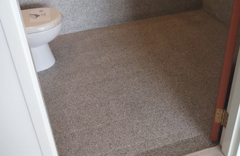 Epoxy Toilet Floor