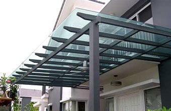 Glass Awning Singapore