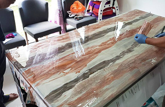 Metallic Countertop