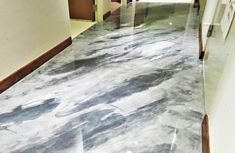 Metallic Epoxy Floor Singapore