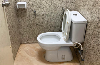Waterproofing Toilet