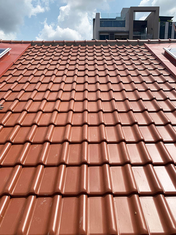 2ezbuilders Roof Tiling Clay Roof Tiles Singapore